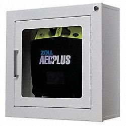 Zoll Defibrillator Storage Cabinet Wall Mount