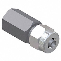 Female Adapter, 1 x 1/2 In, Npt x Tube