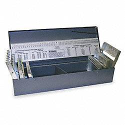 Drill Bit Case, 115 Compartment, 3-in-1