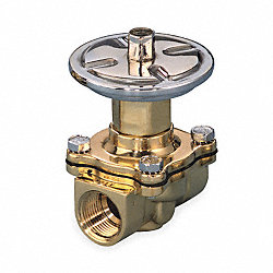 Air Operated Valve, 2-Way, NC, 3/4 In, FNPT