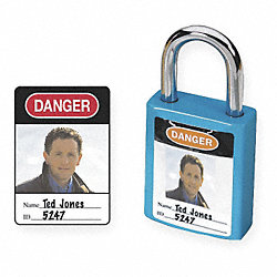 Padlock Identification Label, PK 6