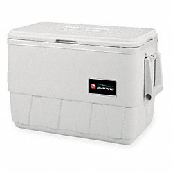 Full Size Chest Cooler, 25 qt., White