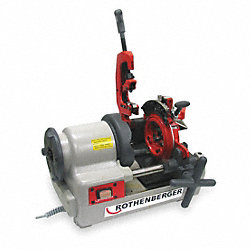 Portable Threading Machine, 1/4-2 In