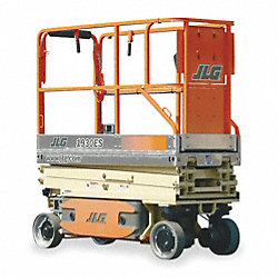 Scissor Lift, Driveable, 500lb Load Cap