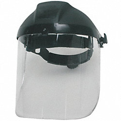 Ratchet Faceshield Assembly, Blu, 8x16-1/2