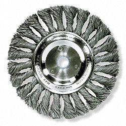 Knot Wheel Brush, 6 In