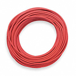 Test Lead Wire, 18 AWG, 50 Ft, Red