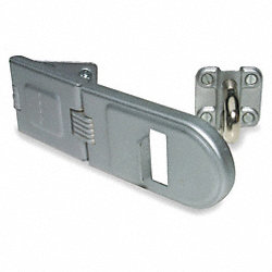 Hasp, 8 In, Double Hinge