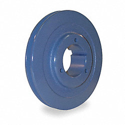 V-Belt Pulley, Spl Taper, 5.6 In OD, 1GRV