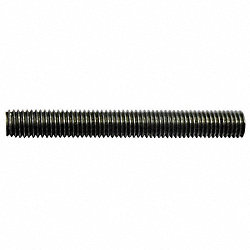 Threaded Rod, B7 Stl, 3/4-10 x12 Ft, RH, UNC