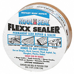 Leak Repair and Sealer Roll, 2 In X 10 Ft
