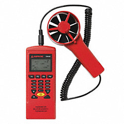Data Logging Anemometer, Vane, 79-6299 FPM