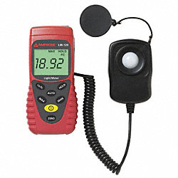 Auto Ranging Light Meter, 0 to 20, 000Fc