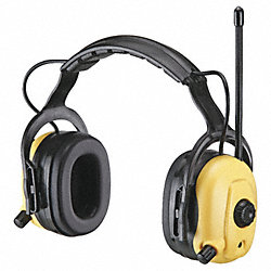 Electronic Ear Muff, 23dB, Yellow, FM