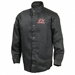Welding Jacket, Black, 3XL