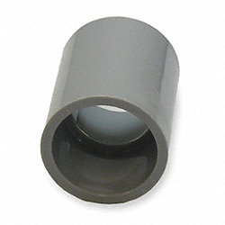 Coupling, 1 Piece, 1 In, PVC