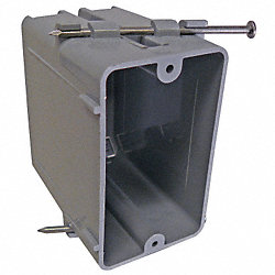 Electrical Box, 1 Gang, 20 Cu In, PVC