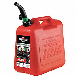Spill Proof Gas Can, 5 Gal., Red, Self Vent