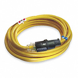 Extension Cord, SlideLock, 13A, 14/3Ga, 90Ft