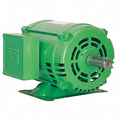 Motor, 3 Ph, 5 HP, 1755, 575V, 184T, Eff 89.5