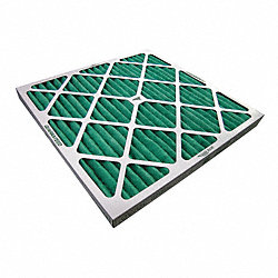 Paint Collector Filter Pad, 2 In. D, PK 12