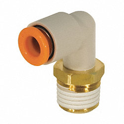 Male Elbow, 1/4 x 1/4 In, Tube x NPT