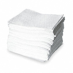 Absorbent Pads, 30 gal., 18 In. L, PK 100