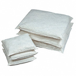 Absorbent Pillow, 9 In. W, 15 In. L, PK 16