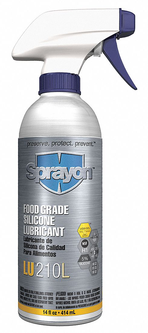 Sprayon Food Grade Silicone Lube, 5 Pct, 14 Oz 210LQ at Sears.com