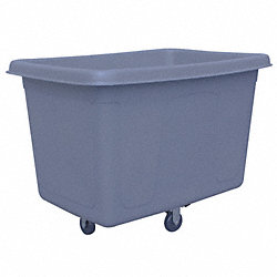 Gray Cube Truck, 8 Cu. Ft., 200 Lb. Load