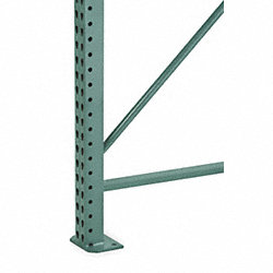 Seismic Upright Frame, 3Wx42Dx96H, Green