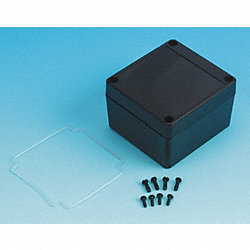 Enclosure, 4X, 3.35x3.15x2.16 In, Black