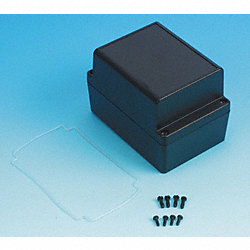 Enclosure, 4X, 4.92x3.35x3.35 In, Black