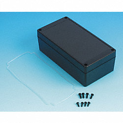 Enclosure, 4X, 6.49x3.35x2.16 In, Black