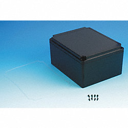 Enclosure, 9.84x7.87x5.12 In, Black