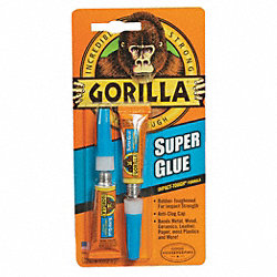 Super Glue, Instant Bonding, 2 - 3g Tubes