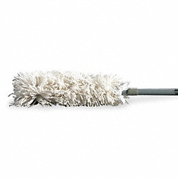 Extendable Duster, 52-1/8 In, Cotton