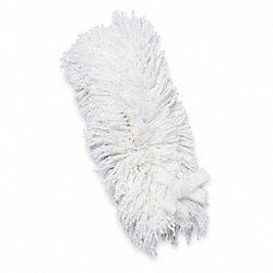Duster Head, White, Cotton