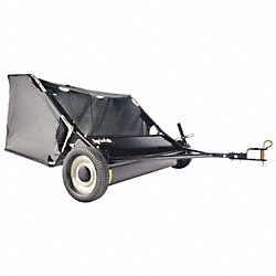 Tow Lawn Sweeper, 42 In. Wide, 12 Cu. Ft.