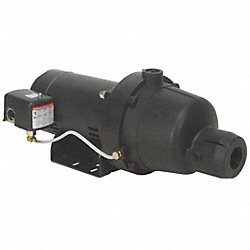 Shallow Well Jet Pump, Plastic, 1 HP