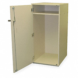Engineering Cart Locker, 22 In W Opening