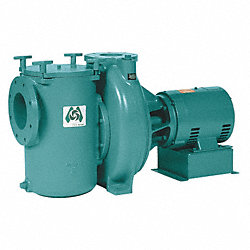 Pool Pump, 10 HP, 3 Ph, 200-230/460V
