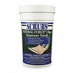 Solvent and Degreaser Wipes