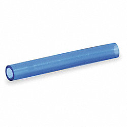Tubing, 4mm ID x 6mm OD, 250 Ft, Clear Blue