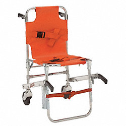 Stair Chair, 36x20x27, Orange