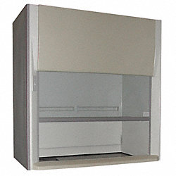 Duct FumeHood w/Vapor-Proof Light, 48 IN