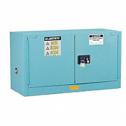 Corrosive Safety Cabinet, 24 In. H