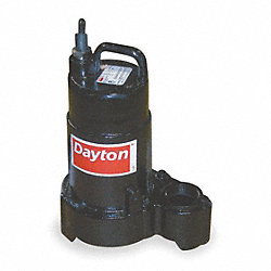 Pump, Sump, 1/3 HP, 120v