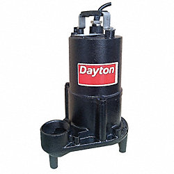 Pump, Effluent, 1/2hp