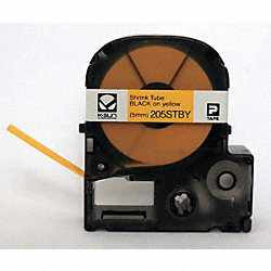 Industrial Shrink Tube Label, 96 In. L